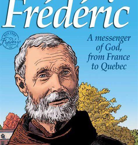 Bande dessinée du bon Père Frédéric … est parue en langue anglaise !